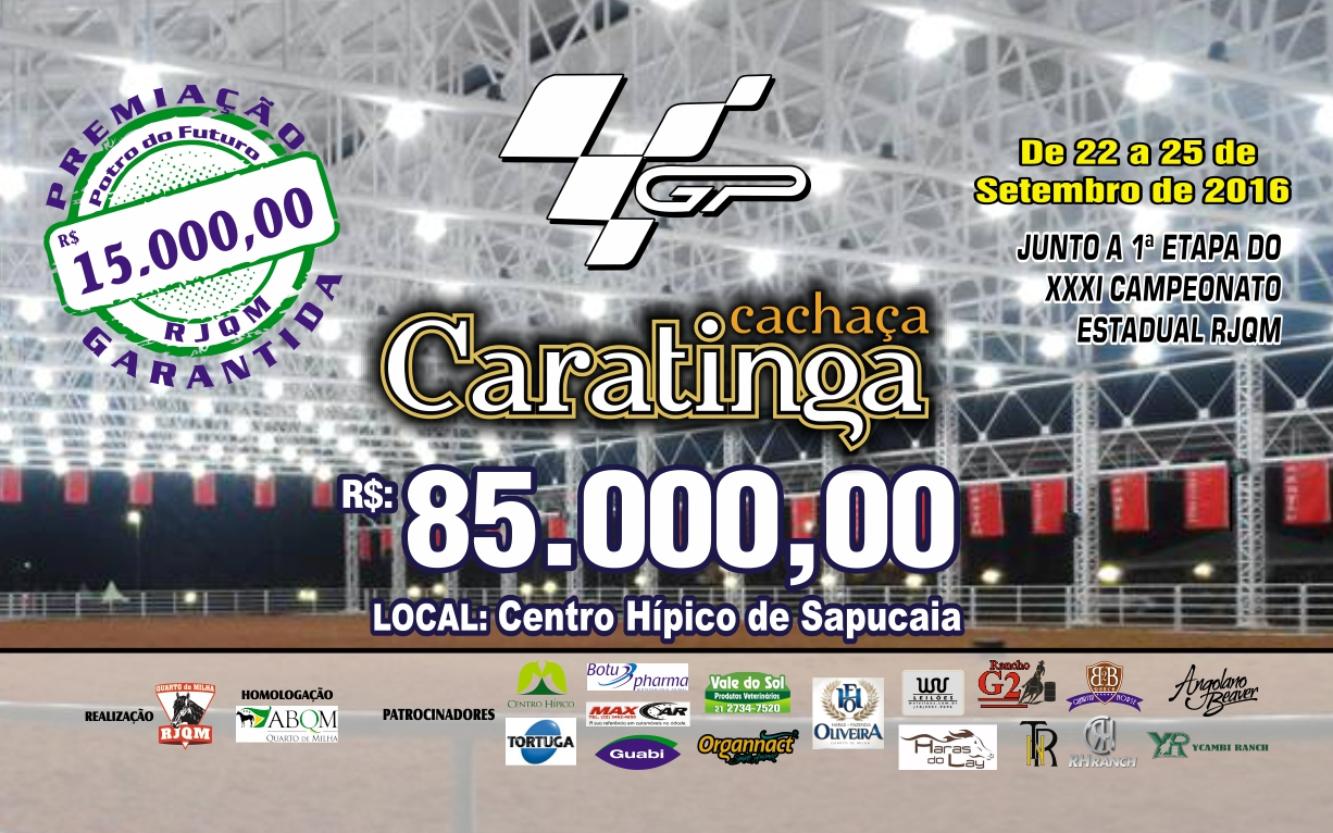 GP CARATINGA (22 a 25 de SETEMBRO 2016) FOLDER